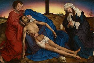 Le Christ pleuré par sa Mère, saint Jean, et sainte Marie-Madeleine