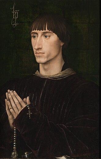 Croÿ - Portrait of Philippe I de Croÿ, by Rogier van der Weyden