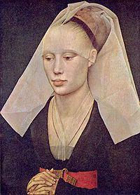 Portrait of a woman, c. 1460 by Rogier van der Weyden