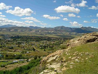 National University of Lesotho - View to the National University of Lesotho