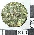 Roman Coin , Nummus of Constantius II (reverse) (FindID 643401).jpg