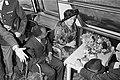 Rondvaart van koningin Juliana en burgemeester Samkalden met president Houphouët, Bestanddeelnr 923-5665.jpg