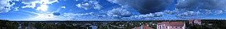 Ronneby - Image: Ronneby panorama
