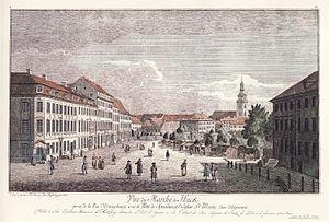 Hans Christoph Friedrich Graf von Hacke - Hackischer Markt