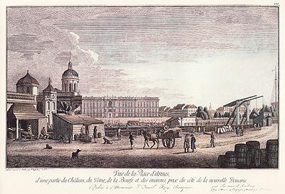 Lustgarten Rosenberg 1777
