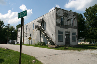 Rosston, Indiana Unincorporated community in Indiana, United States