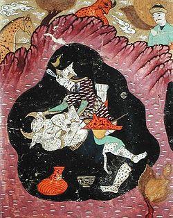 Rostam killing the White Demon.jpg