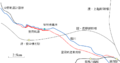 Route map of Satomi Tramway.png