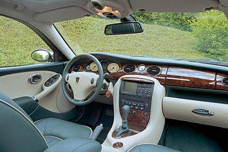Rover 75 - Dashboard pre-facelift