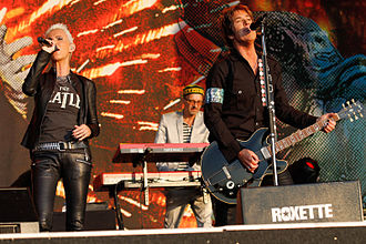 Roxette - Roxette at the Bospop festival in Weert, The Netherlands, 9 July 2011