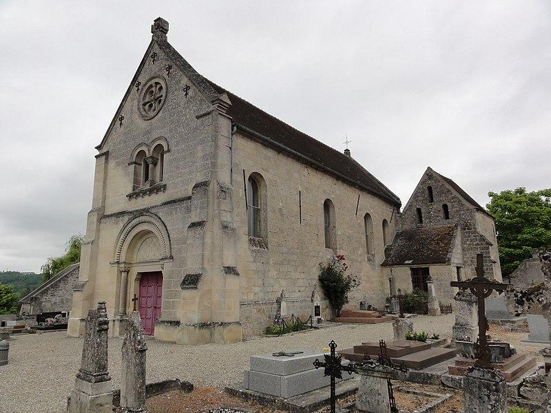 Rozières-sur-Crise (Aisne) église Saint-Martin