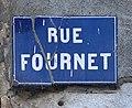 Rue Fournet (Lyon) - plaque.jpg