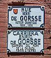 Rue Henri-de-Gorsse (Toulouse) - plaques.jpg