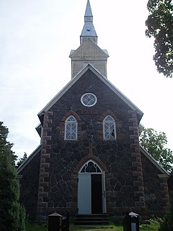 Ruhnu Püha Magdaleena uus kirik.JPG