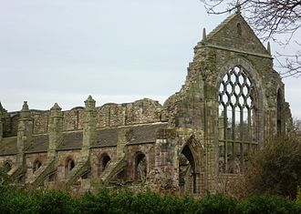 Holyrood Abbey - The ruins of the abbey church