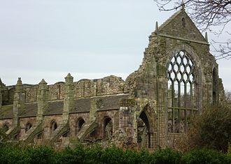 Holyrood Abbey - The ruins of the abbey church