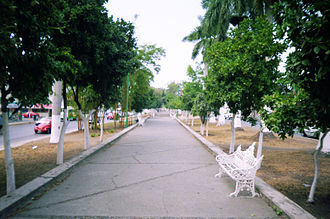 Poza Rica - Ruiz Cortinez Boulevard walkway