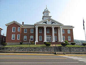 Russell County, Virginia - Image: Russell County Courthouse