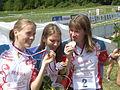 Russia Relay silver medal WOC 2008 -3.JPG