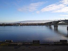 نهر الفولغا في ياروسلافل