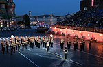 Russian military band in Moscow 2014.jpg