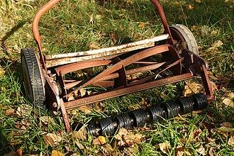 Mower - Reel mower