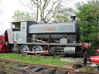 "Rutland Railway Museum - Andrew Barclay ""Belvoir"""
