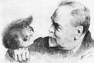 Arkady Rylov - Self-portrait, 1939