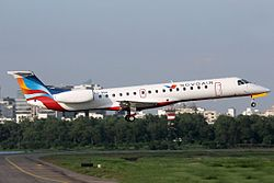 ERJ-145 der Novo Air