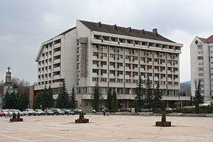 Sapientia University - University building in Miercurea Ciuc