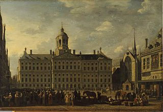 Amsterdam Town Hall on Dam Square
