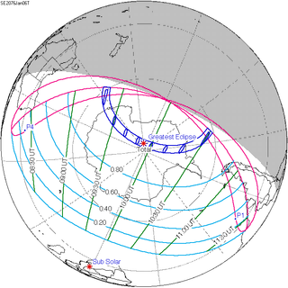 Solar eclipse of January 6, 2076