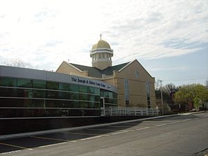 St. Edward High School (Ohio) - The Lowe Center and the Chapel
