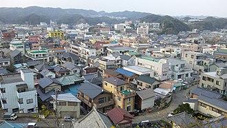 Katsuura, Chiba - View of central Katsuura