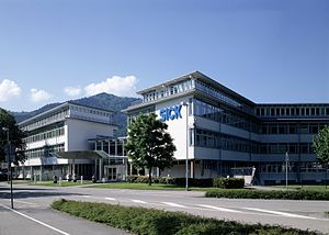 Sick AG - The headquarters of Sick in Waldkirch