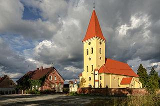 Cerekwica, Lower Silesian Voivodeship Village in Lower Silesian Voivodeship, Poland