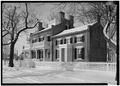SOUTH FRONT AND EAST END - Heber C. Kimball House, Ninth and Munson Streets, Nauvoo, Hancock County, IL HABS ILL,34-NAU,5-5.tif