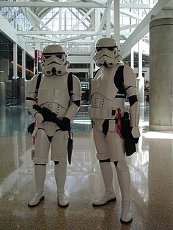 Star Wars cosplay, from file. Image: Star Wars (flickr).