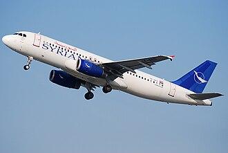 Syrian Air - Syrian Air Airbus A320-200