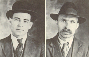 Alvan T. Fuller - Police mug shots of Sacco and Vanzetti