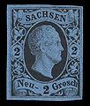 Sachsen 1852 7 Friedrich August II.jpg