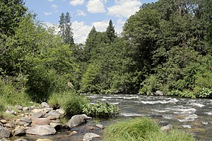 Sacramento River - Upper Sacramento River at Castle Crags State Park