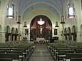 Sacred Heart Catholic Church in Whiting, interior from entrance.jpg