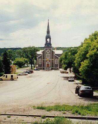 Lebret - Image: Sacred Heart Church Lebret