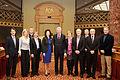 Saeimas priekšsēdētāja oficiālā vizītē apmeklē Luksemburgu (8551993052).jpg