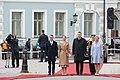 Saeimas priekšsēdētāja piedalās Zviedrijas kroņprinceses un prinča oficiālajā sagaidīšanas ceremonijā (41693107122).jpg