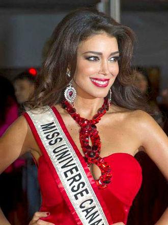 Miss Universe Canada - Sahar Biniaz - Miss Universe Canada 2012 (Iranian)