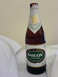 Sai Gon lager beer green label.jpg