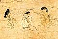 Saigyo Monogatari Emaki - Tsunetaka - Detail of game.jpg