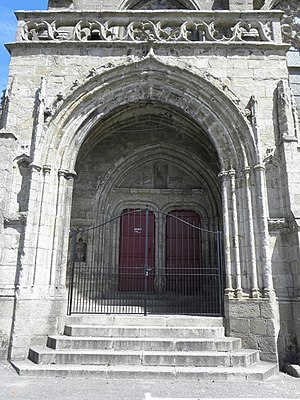 Kreisker chapel - The south porch